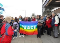 Praying for Peace at Bromley-by-Bow Station