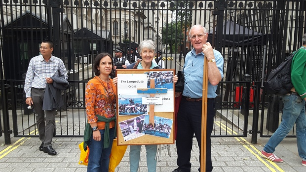 Lampedusa Cross Downing Street
