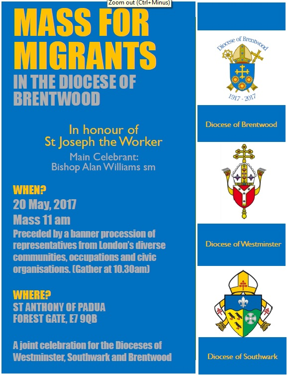 Migrants Mass Poster 2017